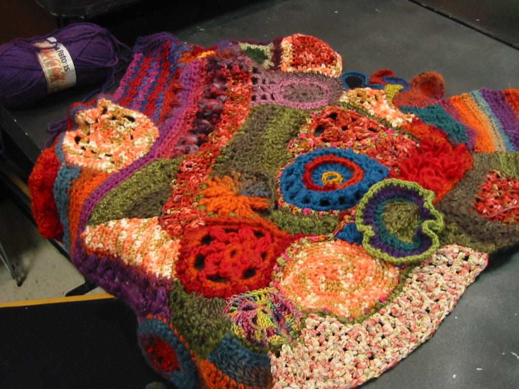 Crocheting Crazy : Our Community Crochet Project is Growing!!! ? crazy crochet