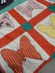 Grandma Vicie's Butterfly quilt, via Kelly Larson